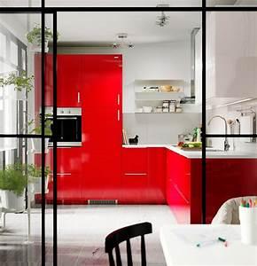 cuisine rouge 10 bonnes raisons de craquer marie claire With faire plan de sa maison 11 cuisine rouge 10 bonnes raisons de craquer marie claire