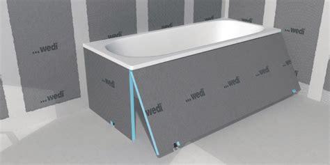 wedi tablier baignoire 224 carreler bathboard wedi 1800x60x20 mm point p