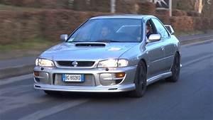 Old Subaru Impreza Wrx Gc8 Brutal Tunnel Acceleration