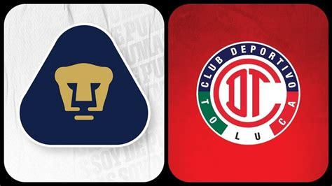 Pumas VS Toluca: Dónde y a qué hora ver partido | Jornada ...