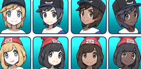 hairstyles  pokemon ultra sun  ultra moon