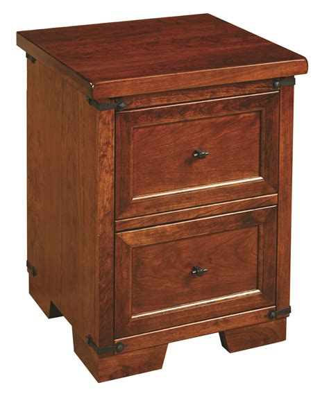 Farmhouse Nightstand by Farmhouse Two Drawer Nightstand Amish Originals