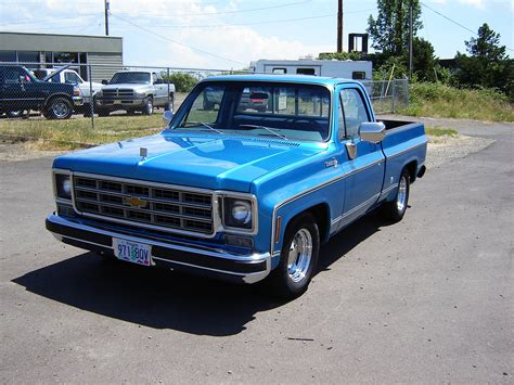 chevrolet pickup  informations articles