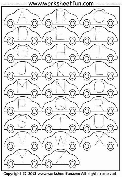 Tracing Worksheets Letter Printable Alphabet Worksheet Letters