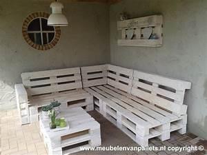 Eckbank Aus Paletten : bijzondere tuinmeubels gemaakt van pallets ~ Markanthonyermac.com Haus und Dekorationen