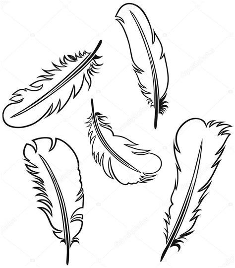 turkey feather template set of 6 羽毛集 图库矢量图像 169 kreativ 11451736