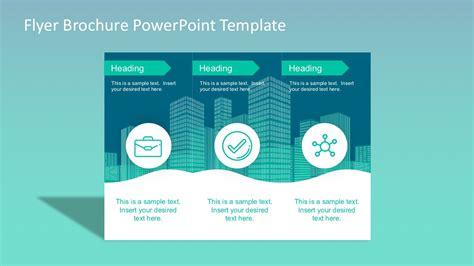How To Make Powerpoint Brochure Flyer Brochure Powerpoint Template Slidemodel