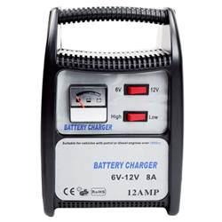 12V Portable Car Battery Charger