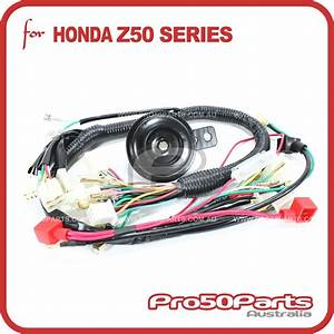 Zm017  Monkey Z50 Main Wire Harness