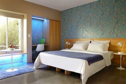 Bedroom Hotel Decor Master Wallpapers Decorating Wall
