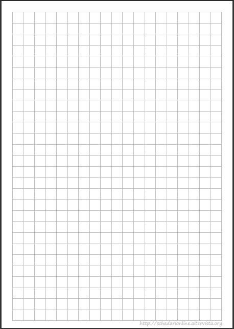 fogli a quadretti da stare pdf schedarionline foglio quadretti 1cm sta