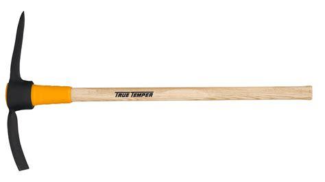 toughstrike  lb wood pick mattock true temper tools