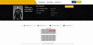 Movie Ticket Layout Online Movie Ticket Booking System Cinema Ticketing