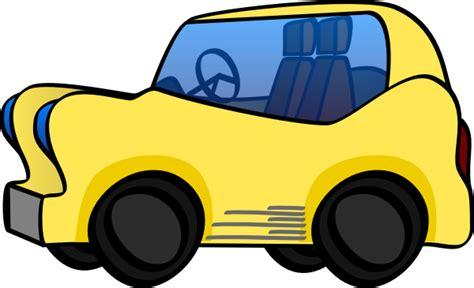 Yellow Cartoon Car Clip Art At Clker.com