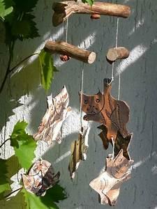 Windspiele Aus Holz : bild windspiel katze holz handarbeit von machwerkstatt bei kunstnet ~ Buech-reservation.com Haus und Dekorationen