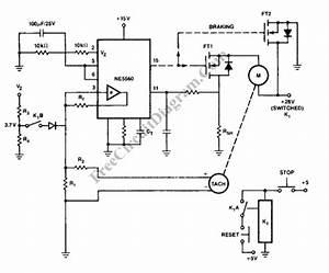 closed loop pwm motor control circuit buk456 circuit With pwm control circuit