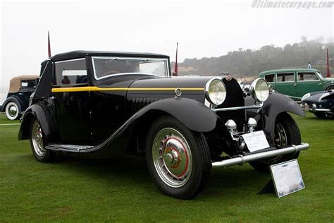 Bugatti Type 50 Cabriolet - Chassis: 50144 - 2008 Pebble ...
