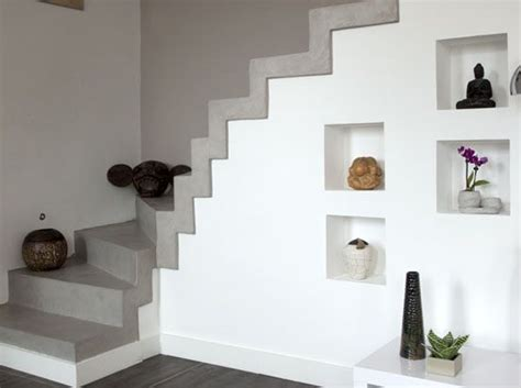 beton cire escalier interieur escalier b 233 ton cir 233 haussmannien chic interieur d 233 coration et pi 232 ces de monnaie