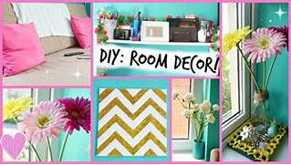 Diy Decorating Ideas For Rooms by DIY Easy Room Decor Ideas YouTube