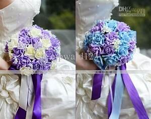 light blue and purple wedding bouquets MEMEs