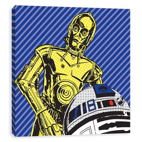 "Star Wars Pop Art // We're Doomed (16""W x 16""H x 1 25""D"