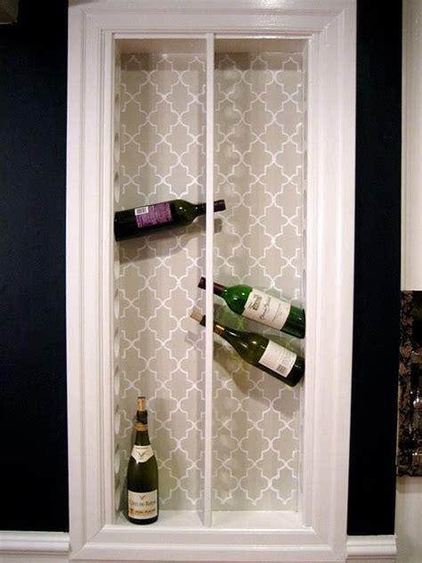 diy wine storage racks     easily