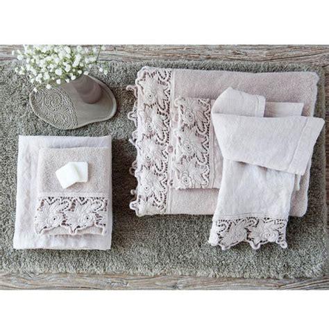 telo  spugna  cotone rose la fabbrica del lino
