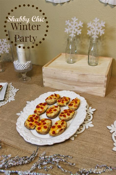 Shabby Chic Winter Party With Perfect Pepperoni Recipe