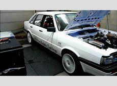 Dyno Audi 90 Quattro 22L 10V Turbo 507hp KMS MD35 YouTube
