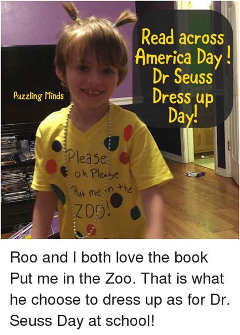 Meme Dress Up - read across america day dr seuss dress up puzzling minds