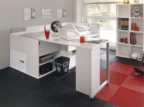 armoire bureau intégré inspiration mobilier alternative placer deux lits