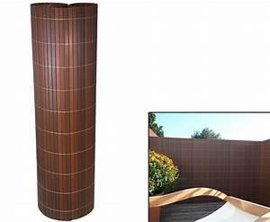Sichtschutzzaun Kunststoff Günstig : zaun sichtschutz sylt mit 180 x 200cm nussbaum g nstig kaufen ~ Watch28wear.com Haus und Dekorationen