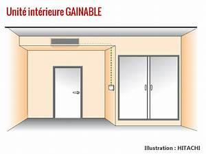 Clim Reversible Gainable : split console gainable les unit s int rieures de clim ~ Edinachiropracticcenter.com Idées de Décoration