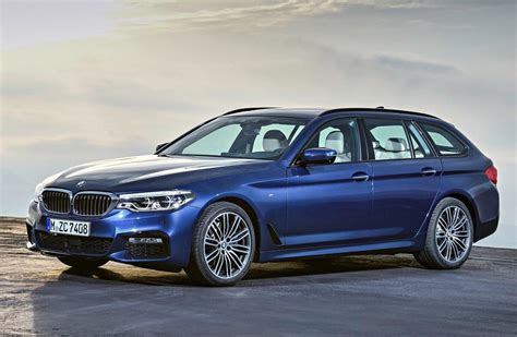 bmw  series touring  revealed drive safe  fast