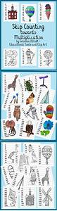 Multiples With Skip Counting Puzzles  Posters  And Wipe