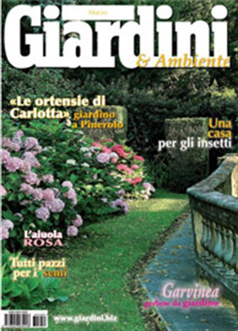 giardini rivista giardini