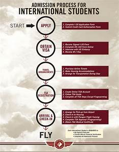 Admission Process For International Flight Students