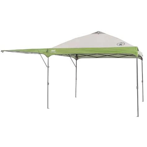coleman pop up canopy coleman 10 ft x 10 ft swingwall instant canopy
