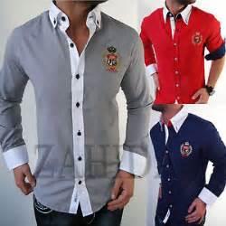designer hemden style jeel herren business büro chef hemd hemden slim fit manager luxus designer neu ebay