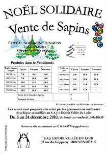 Vente Sapin De Noel : no l solidaire vente de sapins chez dudule le blog du s ~ Melissatoandfro.com Idées de Décoration