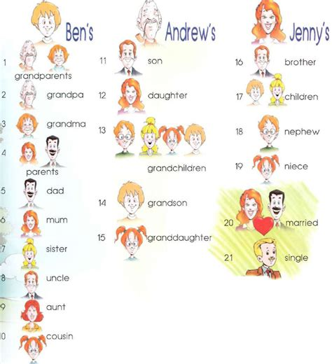 my fathers cousin is my family tree online dictionary for kids