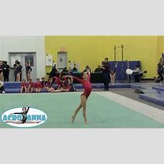Annie The Gymnast  Usag New Level 5 Gymnastics State Meet  Acroanna Youtube