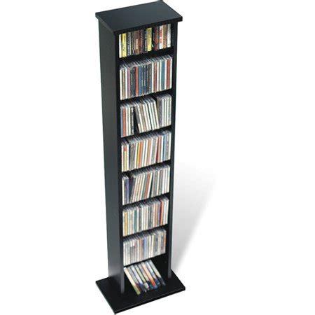 cd rack walmart prepac slim multimedia storage tower walmart