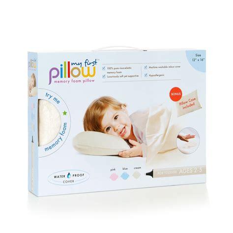 best toddler pillow my pillow memory foam toddler pillow