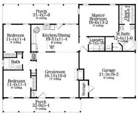 Colonial Front Porch Designs Colonial Style House Plan 3 Beds 2 00 Baths 1492 Sq Ft Plan 406 132