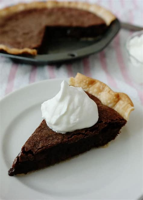 easy brownie pie chocolate chocolate and more