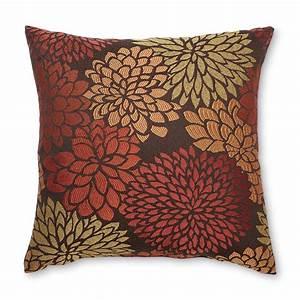 Decorative, Throw, Pillow, -, Rapture, Floral, -, Home, -, Bed, U0026, Bath, -, Bedding