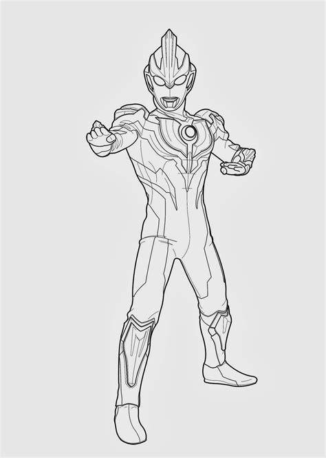 Coloring Menggambar by Image Result For Mewarnai Ultraman Orb Rumah Pintar