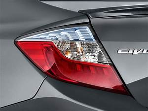 Image: 2012 Honda Civic Hybrid 4-door Sedan L4 CVT Tail