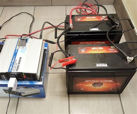 diy size build  battery power backup generator